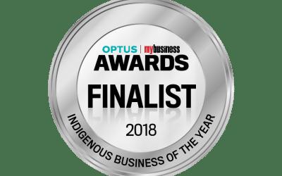 Finalist 2018 – Optus My Business Awards.