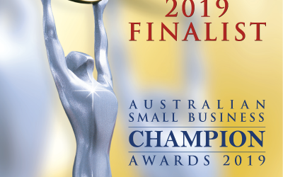 Australian Small Business Champion Awards 2019 – Finalist