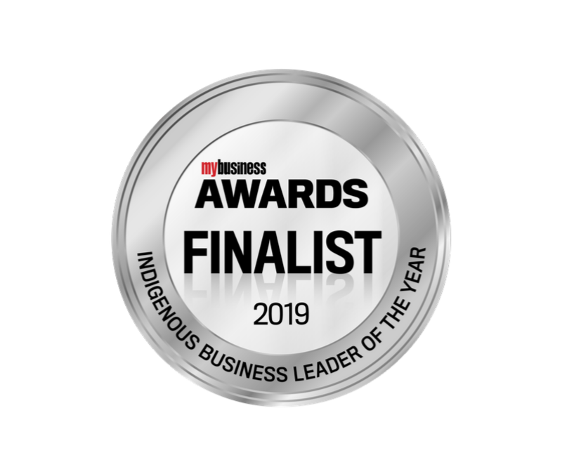 Finalist 2019 My Business Awards, Indigenous Business Leader of the Year